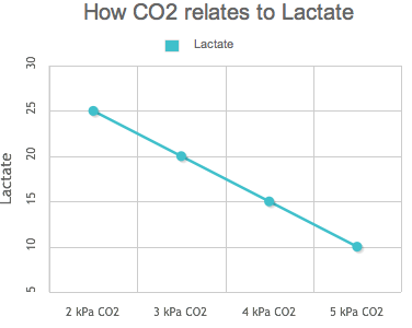 How CO2 relates to lactate